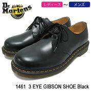 ドクターマーチンDr.Martensブーツ3ホールレディース&メンズ14613アイギブソンシューズブラック(DR.MARTENS14613EYEGIBSONSHOEBlack3ホールドクターマーチンBOOTSドクター・マーチンマーティンワークブーツ靴・ブーツR11838002)