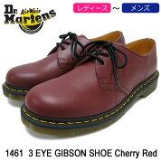 ドクターマーチンDr.Martensブーツ3ホールレディース&メンズ14613アイギブソンシューズチェリーレッド(DR.MARTENS14613EYEGIBSONSHOECherryRed3ホールドクターマーチンBOOTSドクター・マーチンマーティンワークブーツ靴・ブーツR11838600)