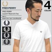 フレッドペリーFREDPERRYTシャツ半袖メンズローレルVネック(FREDPERRYM6717LaurelVNeckS/STeeティーシャツT-SHIRTSカットソートップスフレッドペリーフレッド・ペリー)icefiledicefield