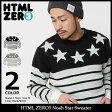 【送料無料】エイチティエムエル ゼロスリー HTML ZERO3 セーター メンズ ノア スター(html zero3 Noah Star Sweater クルーネック トップス エイチティーエムエル) ice filed icefield