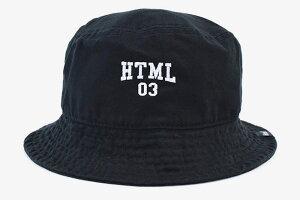 エイチティエムエルゼロスリーHTMLZERO3ハットメンズパウエルバケットハット(htmlzero3PowellBucketHat帽子エイチティーエムエル)icefiledicefield