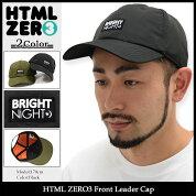 エイチティエムエルゼロスリーHTMLZERO3キャップメンズフロントリーダー(htmlzero3FrontLeaderCapスナップバック帽子エイチティーエムエル)icefiledicefield