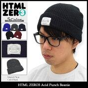 エイチティエムエルゼロスリーHTMLZERO3ニット帽アシッドパンチビーニー(htmlzero3AcidPunchBeanie帽子ニットキャップエイチティーエムエル)icefiledicefield