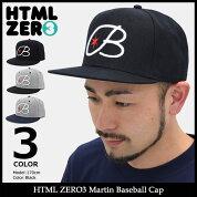 【送料無料】エイチティエムエルゼロスリーHTMLZERO3キャップメンズマーティンベースボールキャップ(htmlzero3MartinBaseballCapスナップバック帽子エイチティーエムエル)icefiledicefield
