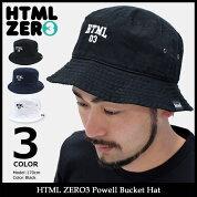 【送料無料】エイチティエムエルゼロスリーHTMLZERO3ハットメンズパウエルバケットハット(htmlzero3PowellBucketHat帽子エイチティーエムエル)icefiledicefield