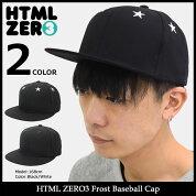 【送料無料】エイチティエムエルゼロスリーHTMLZERO3キャップメンズフロストベースボールキャップ(htmlzero3FrostBaseballCapスナップバック帽子エイチティーエムエルHTML-HED270)icefiledicefield