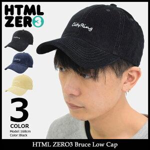 エイチティエムエルゼロスリーHTMLZERO3キャップメンズブルースローキャップ(htmlzero3BruceLowCap帽子エイチティーエムエルHTML-HED272)icefiledicefield