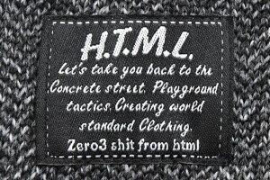 【送料無料】エイチティエムエルゼロスリーHTMLZERO3プルオーバーパーカーメンズマージリリック(htmlzero3MergeLyricPulloverHoodieフードフーディPullOverHoodyParkerトップスエイチティーエムエルHTML-PA150)icefiledicefield