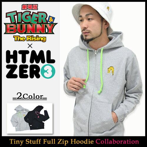エイチティエムエル ゼロスリー フルジップフード HTML ZERO3 Guttarelax×劇場版 TIGER & BUNNY -...