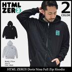 エイチティエムエル ゼロスリー HTML ZERO3 パーカー ジップアップ メンズ ドリス ニーナ フル ジップ フーディー(html zero3 Doris Nina Full Zip Hoodie フード フルジップ Zip up Hoody Parker トップス エイチティーエムエル) ice filed icefield