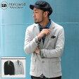エイチティエムエル ゼロスリー HTML ZERO3 フィリップ スウェット テーラード ジャケット(html zero3 Philip Sweat Tailored JKT エイチティーエムエル)