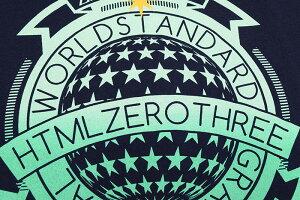 エイチティエムエルゼロスリーHTMLZERO3Tシャツ半袖メンズニードスコープ(htmlzero3NeedScopeS/STeeティーシャツT-SHIRTSカットソートップスエイチティーエムエル)icefiledicefield