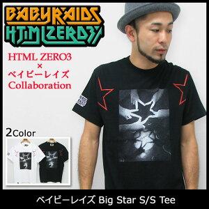 【オフィシャルコラボ】HTML ZERO3×ベイビーレイズ Big Star S/S Tee Collaboration【11月上旬...