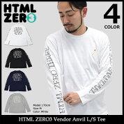 【送料無料】エイチティエムエルゼロスリーHTMLZERO3Tシャツ長袖ベンダーアンヴィル(htmlzero3VendorAnvilL/STeeティーシャツT-SHIRTSカットソートップスロングロンティーロンtエイチティーエムエル)icefiledicefield