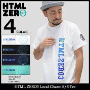 【送料無料】エイチティエムエルゼロスリーHTMLZERO3Tシャツ半袖メンズローカルチャーム(htmlzero3LocalCharmS/STeeティーシャツT-SHIRTSカットソートップスエイチティーエムエル)icefiledicefield