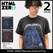 【送料無料】エイチティエムエルゼロスリーHTMLZERO3Tシャツ半袖メンズメメントデュード(htmlzero3MementoDudeS/STeeティーシャツT-SHIRTSカットソートップスエイチティーエムエル)icefiledicefield