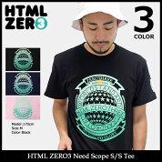 【送料無料】エイチティエムエルゼロスリーHTMLZERO3Tシャツ半袖メンズニードスコープ(htmlzero3NeedScopeS/STeeティーシャツT-SHIRTSカットソートップスエイチティーエムエル)icefiledicefield