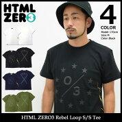 【送料無料】エイチティエムエルゼロスリーHTMLZERO3Tシャツ半袖メンズレベルループ(htmlzero3RebelLoopS/STeeティーシャツT-SHIRTSカットソートップスエイチティーエムエル)icefiledicefield