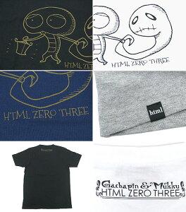 エイチティエムエルゼロスリーHTMLZERO3×ゴーストガチャピンホロウTシャツ半袖コラボ(htmlzero3×GhostGachapinHollowS/STeeCollaboration)icefiledicefield