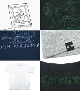 エイチティエムエルゼロスリーHTMLZERO3×ゴーストガチャピンスマートリーTシャツ半袖コラボ(htmlzero3×GhostGachapinSmartlyS/STeeCollaboration)icefiledicefield