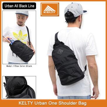 ケルティ KELTY ショルダーバッグ アーバン ワンショルダー(kelty Urban One Shoulder Bag Urban All Black Line ショルダー バッグ ワンショルダーバッグ ボディーバッグ メンズ & レディース ユニセックス 男女兼用 ケルティー 2592099)