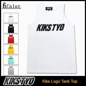 キックス ティー・ワイ・オー KIKS TYO タンクトップ メンズ キックス ロゴ(Kiks Tyo Kiks Logo Tank Top KIKSTYO kiks・tyo キックスティーワイオー) ice filed icefield