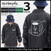 マークゴンザレスMarkGonzalesジャケットメンズマグカップコーチジャケット(MugCupCoachJKTナイロンジャケットJACKETJAKETアウターコーチジャンパー・ブルゾンマークゴンザレスマーク・ゴンザレススケボーsk8スケーター男性用MG18S-B03)