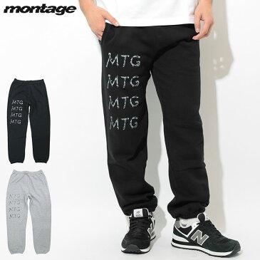 モンタージュ montage パンツ メンズ トラッシュ MTG ロゴ スウェットパンツ ( montage Trash MTG Logo Sweat Pant スエットパンツ ボトムス MT-P003 )