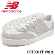ニューバランスnewbalanceスニーカーメンズ男性用CRT300FFWhite(newbalanceCRT300FFSNEAKERMENS・靴シューズSHOESCRT300-FF)icefiledicefield