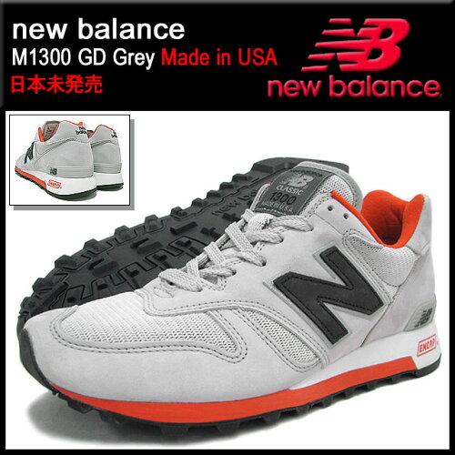 ニューバランス new balance スニーカー M1300 GD Grey メイドインUSA メンズ(男性用) (NEWBALANCE...