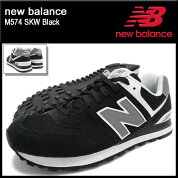 �˥塼�Х��newbalance���ˡ��������������M574SKWBlack(newbalanceM574SKW�֥�å���SNEAKERMENS�������塼��SHOES���ˡ���M574-SKW)icefiledicefield