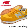 ニューバランス new balance スニーカー メンズ 男性用 ML574 HRK Yellow/Grey(newbalance ML574 HRK イエロー 黄 SNEAKER MENS・靴 シューズ SHOES ML574-HRK) ice filed icefield