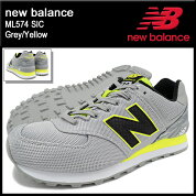 �˥塼�Х��newbalance���ˡ��������������ML574SICGrey/Yellow(NEWBALANCEML574SIC���졼��SNEAKERMENS�������塼��SHOESML574-SIC)icefiledicefield