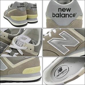 ニューバランスnewbalanceスニーカーレディース&メンズML574VGグレー(newbalanceML574VGGreyVintageSNEAKERLADIESMENS・靴シューズSHOESML574-VG)icefiledicefield