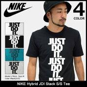 ナイキNIKETシャツ半袖メンズハイブリッドJDIスタック(nikeHybridJDIStackS/STeeティーシャツT-SHIRTSカットソートップスメンズ男性用856482)icefiledicefield