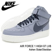 ナイキNIKEスニーカーメンズ男性用エアフォース1ハイ07LV8AshenSlate/Obsidian(nikeAIRFORCE1HIGH07LV8SNEAKERMENS・靴シューズSHOES806403-404)icefiledicefield