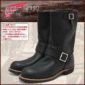 レッドウィング RED WING 2990 エンジニア ブーツ 黒 レザー MADE IN USA メンズ (red wing REDWING レッド ウィング ウイング ENGINEER BOOT エンジニア・ブーツ BOOTS boots レッドウイング レッド・ウィング ワーク ブーツ 靴・ブーツ)