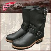 レッドウィング RED WING 2268 エンジニア ブーツ 黒 レザー MADE IN USA メンズ (red wing REDWING レッド ウィング ウイング ENGINEER BOOT エンジニア・ブーツ BOOTS boots レッドウイング レッド・ウィング ワーク ブーツ 靴・ブーツ)