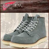 レッドウィング RED WING 8143 6インチ モカシン トゥ ブーツ スレートブルー レザー MADE IN USA アイリッシュセッター メンズ (red wing REDWING レッド ウィング ウイング BOOTS boots レッドウイング レッド・ウィング ワーク ブーツ 靴・ブーツ)