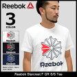 リーボック Reebok Tシャツ 半袖 メンズ スタークレスト F GR(reebok Starcrest F GR S/S Tee ティーシャツ T-SHIRTS カットソー トップス メンズ 男性用 BQ3474 BQ3505 BQ3480) ice filed icefield