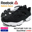 リーボック Reebok スニーカー レディース & メンズ インスタポンプ フューリー OG ブラック/ホワイト 限定(INSTAPUMP FURY OG Black/White Limited Ballistic Nylon ポンプフューリー 黒 SNEAKER LADIES MENS・靴 シューズ SHOES V65750)