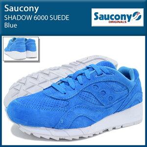 サッカニーSauconyスニーカーメンズ男性用シャドウ6000スエードBlue(SAUCONYS70222-4SHADOW6000SUEDEシャドーローカットブルー青SNEAKERMENS・靴シューズSHOES)icefiledicefield
