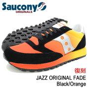 サッカニーSauconyスニーカーメンズ男性用ジャズオリジナルフェードBlack/Orange(SAUCONYS70248-1JAZZORIGINALFADE復刻ローカットブラックオレンジSNEAKERMENS・靴シューズSHOES)icefiledicefield