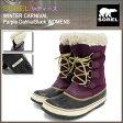 ソレル SOREL ブーツ レディース 女性用 ウィンターカーニバル Purple Dahlia/Black ウィメンズ(Sorel WINTER CARNIVAL WOMENS 防水 Boot Boots スノー・ブーツ ウィンター・ブーツ 靴・ブーツ soreru Ladys ウーマンズ パープル 紫 NL1495-562)
