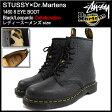 ステューシー STUSSY ブーツ レディース & メンズ ドクターマーチン 1460 8アイ ブラック/レオパード コラボ(stussy×Dr.Martens 1460 8 EYE BOOT Black/Leopardo 338113 22083001 8ホールブーツ BOOTS Shoes 靴 ステューシー×ドクターマーチン)