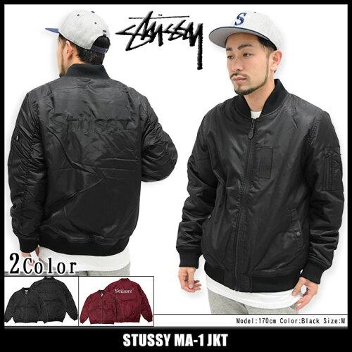 ステューシー STUSSY ジャケット メンズ MA-1(stussy JKT MA1 フライトジャケット ミリタリージャ...