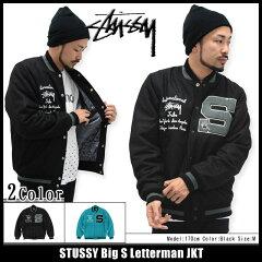 ステューシー STUSSY ジャケット メンズ Big S Letterman(stussy jkt JACKET JACKET JAKET アウター ジャンパー・ブルゾン スタジャン すてゅーしー メンズ・男性用 115255 ストゥーシー スチューシー)