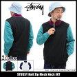 ステューシー STUSSY ジャケット メンズ Half Zip Mock Neck(stussy JKT ハーフジップ プルオーバー JACKET JAKET アウター ジャンパー・ブルゾン メンズ・男性用 118185 ストゥーシー スチューシー) ice filed icefield