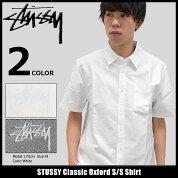 ステューシーSTUSSYシャツ半袖メンズClassicOxford(stussyshirtオックスフォードシャツカジュアルシャツトップスメンズ・男性用111908ストゥーシースチューシー)icefiledicefield