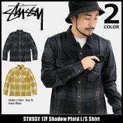 ステューシーSTUSSYシャツ長袖メンズ17FShadowPlaid(stussyshirtチェックカジュアルシャツトップスメンズ・男性用111934ストゥーシースチューシー)icefiledicefield